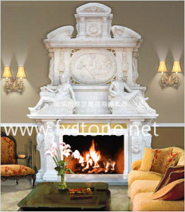 Double-Decker Fireplace pictures & photos