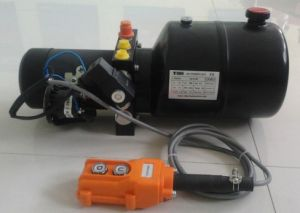 Hydraulic Power Unit for Pallet Truck with Button Controlling (VDPU-PUPT) pictures & photos