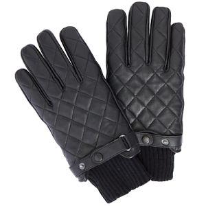 Mens Leather Gloves Belts Back (SW773)
