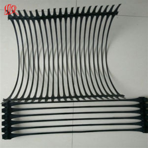Levee Protection Uniaxial Plastic Geogrid pictures & photos