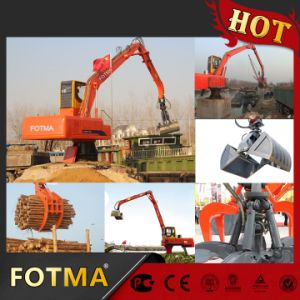 Diesel Material Handler with Log Grab pictures & photos