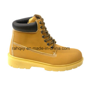 Full PU Upper Gentleman Style Safety Shoes (HQ06002) pictures & photos
