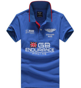 Customized High Quality Different Colors Auto Racing Embroidered Polo Shirt pictures & photos