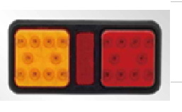 Good Quality! LED Rectangle Tail Indicator for Truck, Trailer pictures & photos