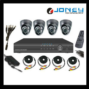 CCTV H. 264 4CH Digital Video Recorder Combo Camera DVR Kit pictures & photos