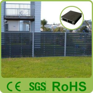 Outdoor Grey Wood Plastic Composite Fence Panels/WPC Fenceing pictures & photos