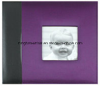 "8""X8"" Silk Fabric Cover Baby Scrapbook Album pictures & photos"