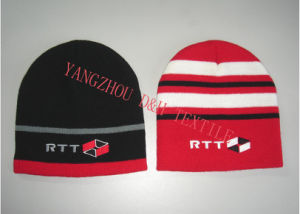 Promotional Knitted Hat with Cuff (DH-LH7622) pictures & photos