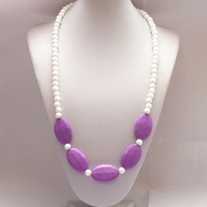 04# 2013 New Style FDA-Approved Silicone Loose Beads Necklace Teething Rings/Small Balls for Necklaces