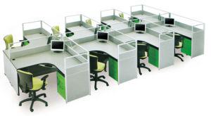 Wood Office Workstation (HC-28)