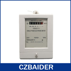 Single Phase Electricity Meter (DDS2111)
