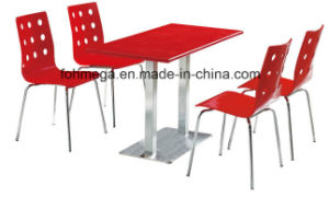 Dining Restaurant Furniture Set in Red pictures & photos