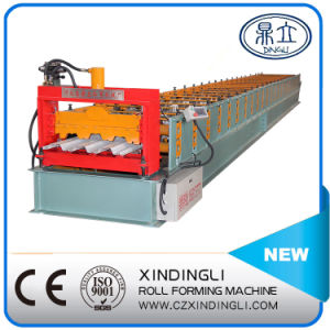 Xdl 720 Aluminum Floor Deck Roll Forming Machine China Manufacturer/Floor Decking Steel Panel pictures & photos