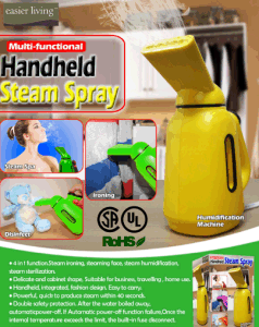 Multifunctional Steam Spray, Steam Cleaner pictures & photos