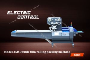 Automatic Servo Motor Control Film Bag Wrapping Food Flow Packing Machine Model Ald-250 350 450 pictures & photos