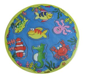 Wooden Fishing Puzzle Game Toys pictures & photos