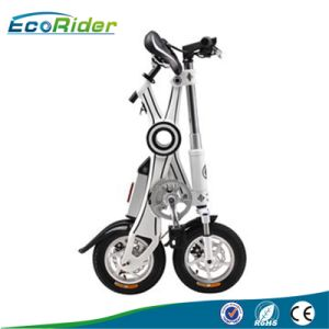 Brushless 350W 36V Lithium E Bicycle 10 Inch Tires Folding Electric Bike Foldable E-Bike pictures & photos