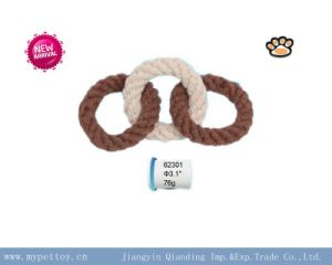 New Toy Braided Rings Dog Toy pictures & photos