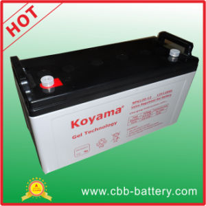 Koyama Factory Price Gel Battery 120ah 12V Solar Battery pictures & photos