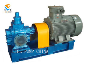 Ycb80 Big Capacity Arc Lube Oil Transfer Gear Pump pictures & photos