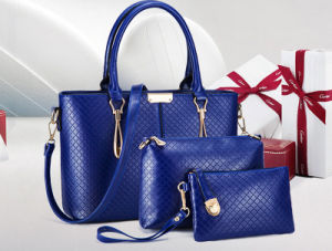 2016 Top Selling Woman Fashionable Wholesale PU Handbags Set 3PCS in 1 pictures & photos