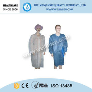 Non-Woven Disposable Lab Coat Uniform pictures & photos