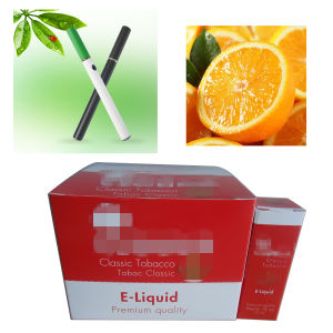 High Quality 10ml/20ml/30ml Orange Flavor E-Cigarette Liquid (TE-1****)