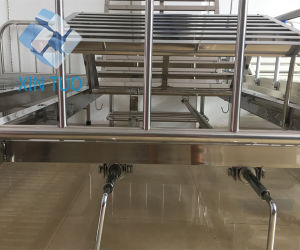 Cheap Price Simple Stainless Steel Bed Hospital Furniture Folding Adjustable Bed pictures & photos