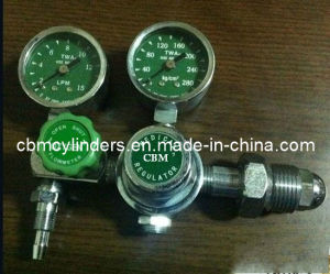 Medical Pin Index Gauge-Flow Oxygen Pressure Regulator pictures & photos
