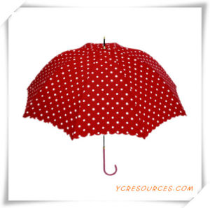 Fashion Sun Straight Golf Umbrella Pongee OEM Umbrella for Promotion pictures & photos