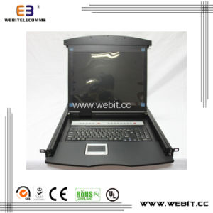 17 Inch 8-Port VGA LCD Kvm Switch pictures & photos