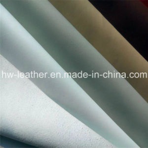 Popular Microfiber PU Leather for Shoes, Furniture (HW-992) pictures & photos