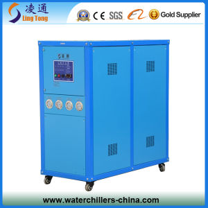 Industrial Refrigerator Water Chiller / Box Type Scroll Compressor Open Water Chiller pictures & photos
