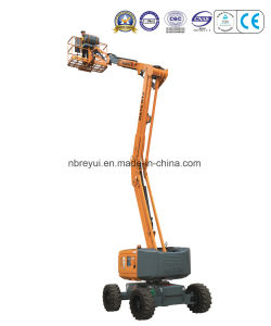 12.4-17.3m Cross-Country Crank-Type Aerial Work Platform pictures & photos