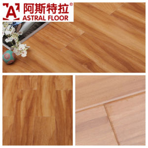 German Technical Mirror Surface (u-groove) Laminate Flooring (AD317) pictures & photos