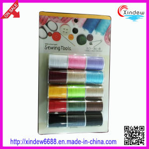 Multicolor Polyeater Sewing Thread for Household pictures & photos