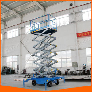 China Supplier Mobile Portable Self-Propelled Electric Scissor Lift Elevator Ce pictures & photos