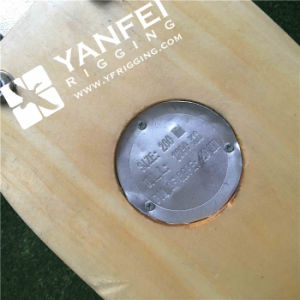 200mm JIS Type Ship Wooden Block Pulley Triple with Hook pictures & photos