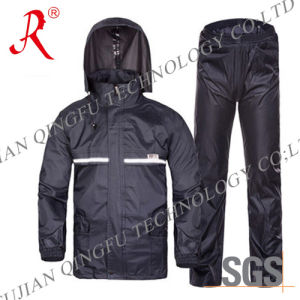 New Style Waterproof and Breathable Rain Suit (QF-712) pictures & photos