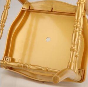 High Back Gold PC Napoleon Chair for Wedding and Event pictures & photos
