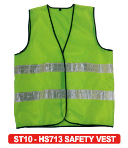 100% Polyester Reflective Vest Hs713 pictures & photos