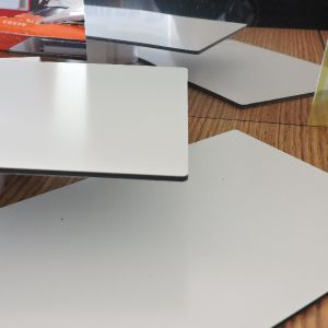 3mm White/White PE Coated Aluminum Composite Panel ACP Advertising Board pictures & photos