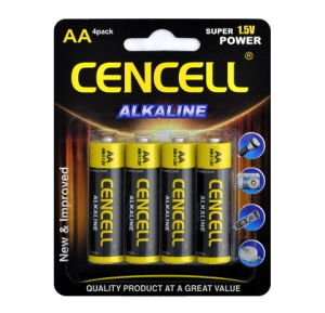 1.5V AAA Size Foil Jacket Alkaline Manganese Dry Battery pictures & photos