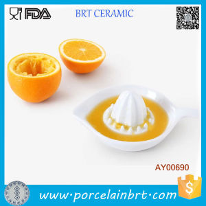 Cute Orange Lemon Ceramic Hand Juicer for Household pictures & photos