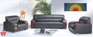 Leisure Black Office Sofa Set (WP5-3010)