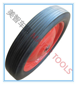 Big Size Solid Rubber Wheels for Concrete Mixer pictures & photos