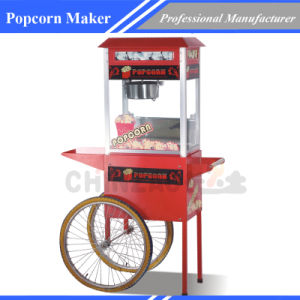 Popcorn Maker Machine with Cart pictures & photos