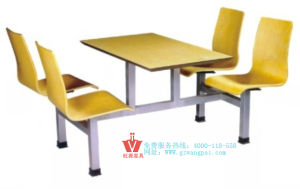 Canteen Fast Food Tables and Chairs (WP10-8001)