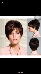 Kanekalon Fibre Short Style Synthetic Hair Wig pictures & photos