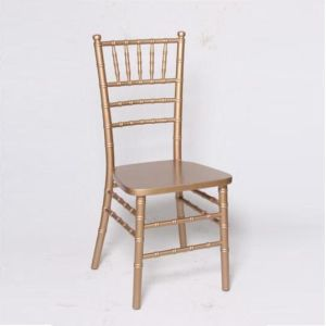 China Yellow Solid Wood Chiavari Ballroom Chair pictures & photos